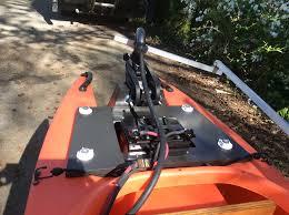 electric fishing kayak motor and batter 01
