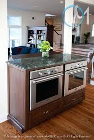 side by side double oven in an island hmmm maybe just the sink side by side