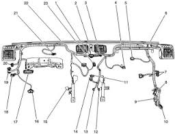 2005 3 5l chevrolet colorado wiring harness diagram wiringdiagrams legend for the 2005 3 5l chevrolet colorado wiring harness diagram 1 accessory switch c2 2 hazard switch 3 accessory switch c1