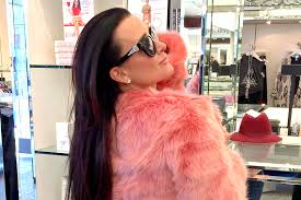 north west kyle richards fur coat who wore it better the daily dish