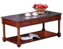 furniture stone terrace granite top coffee table with gallery 6 of leick