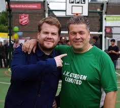 smithy gavin and stacey. mates: comedy actor james corden, left, could barely hide his delight when he smithy gavin and stacey