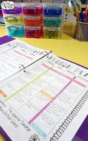 Teacher Binder Templates Editable Teacher Binder Free Updates 5272347200441 Lesson Plan