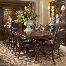 Chairs  Dining Set With Geo Trestle Table And Stol Upholstered - Dining room chairs with arms