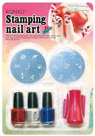 Amazon.com : Konad Set Starter Kit for Stamping Nail Art : Nail ...