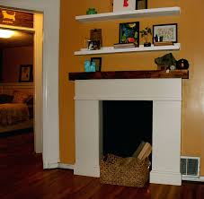 build faux fireplace mantel diy shelf mddle hnges sdes swng your own faux fireplace entertainment center build your own mantel diy fake plans