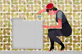12 how to wallpaper behind radiators