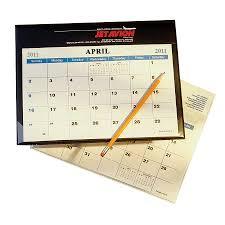 small desk wall calendars
