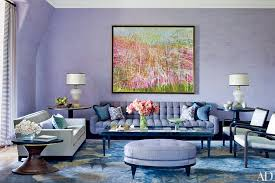 Color Guide How To Work With LavenderLavender Color Living Room