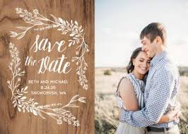 Save The Date Cards And Postcards With Custom Photo Templates