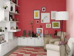 the type of wall colour combination that is best suited for small