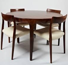 scandinavian design dining table 1964