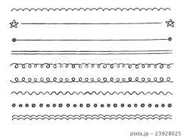 おしゃれなアナログタッチ 鉛筆で書いたようなラインイラスト セット素材