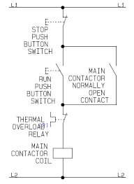 a how to guide for the control circuit of a direct on line dol wiring diagram dol motor control circuit