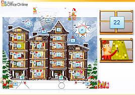 Online Office Calendar Advent Calendar Template Powerpoint