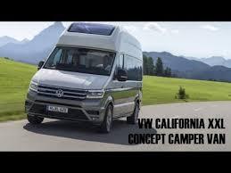 2018 volkswagen camper van. wonderful volkswagen 2018 vw california xxl camper van to volkswagen camper van 2