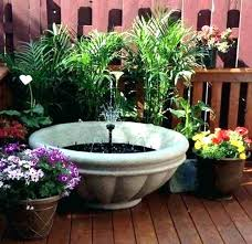 small fountain deck fountains outdoor deck water fountains landscaping and outdoor building outdoor small water features