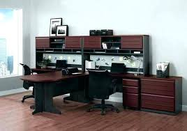two desk office. Delighful Two Two Person Home Office Desk Ideas For Throughout Desks Design 2 I