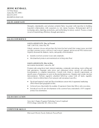 Sales Associate Resume Examples Awesome Sales Associate Responsibilities Resume Examples Sample Retail