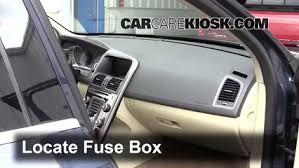 interior fuse box location 2010 2017 volvo xc60 2014 volvo xc60 2014 volvo xc60 t6 3 0l 6 cyl turbo fuse interior check