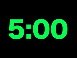 5 Minute Countdown Timer For Powerpoint Videos Matching Electric 5 Minute Countdown Revolvy