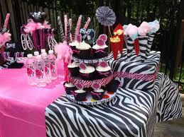 Minnie Mouse Baby Shower Decorations Minnie Mouse Zebra Print Baby Shower Wwwawalkinhellcom Www