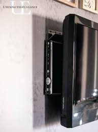 wall mounted tv where to put cable box wall mount with cable box wall mount tv