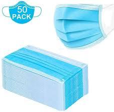 <b>50Pcs DHL</b> Shipping <b>Disposable</b> 3-Layer <b>Masks</b>, Anti Dust ...