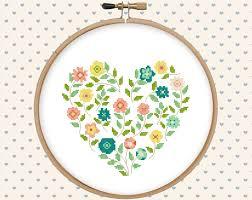 Floral Cross Stitch Patterns Magnificent Inspiration Ideas