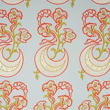 Attractive Leaf. Moonflower Wallpaper
