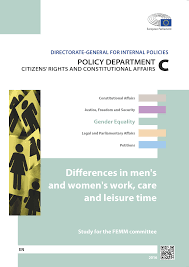 DIFFERENCES IN <b>MEN'S AND WOMEN'S</b> WORK, CARE AND ...