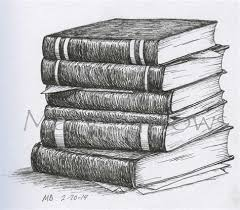 pile of books drawing google search 100 things drawing