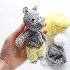 Amigurumi Patterns Free Beauteous Cuddle Me Rhino Amigurumi Pattern Amigurumi Today