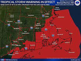 North Shore Braces For Tropical Storm ...
