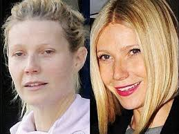 gwyneth paltrow without make up