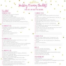 A 12 Month Wedding Planning Checklist Kate Aspen Blog