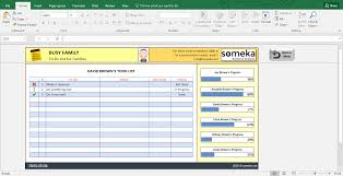 To Do Checklist Template Family To Do List Printable Checklist Template In Excel 19