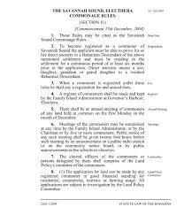 Savannah Sound Commonage Rules - Faolex