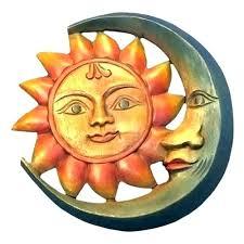 metal sun art face wall decor outstanding ceramic m what is outdoor fresh ideas moon large metal sun art