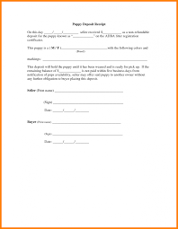 Deposit Receipt Sample Non Refundable Deposit Form Of Car Agreement Template Sale Receipt