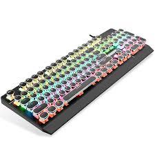 <b>Fashionable mechanical keyboard</b> 87 keys green axis gaming ...