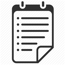 Bullets Document File List Organizer Report Text Todo Icon