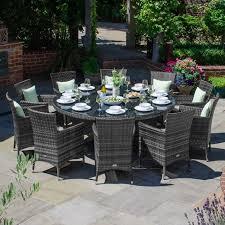 amelia 10 seat dining set 1 8m round