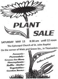 plant sale in thomaston by episcopal church of st john baptist House Plants For Sale the episcopal church of st john baptist will host a plant sale on saturday, may 13 from 8 30 until 12 noon st john's is located on the corner of main and house plants for sale online