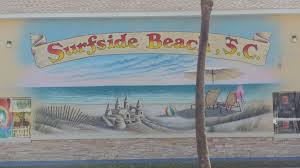 beachware exterior wall mural in surfside beach sc