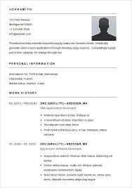 Resume Outline Amazing A Resume Outline Canreklonecco