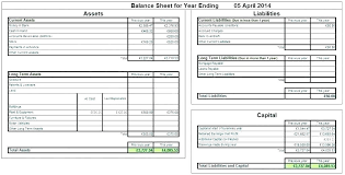 Basic Balance Sheet Template Excel Accounting Balance Sheet Template Excel