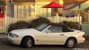 It's from europe, which means this 1992 sl is extra fancy. Mercedes Sl500 R129 1990s History