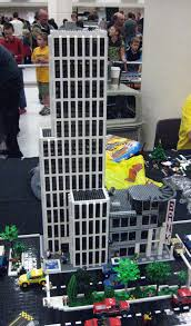 lego office building. LEGO Bank And Office Building | By FlintWeiss Lego