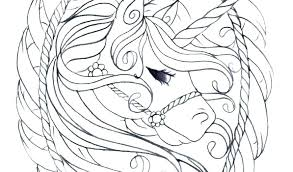 Easy Coloring Pages Unicorn Colouring Of Cute Things To Color Easy